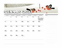 Calendario giuliano 2013 (L-D)