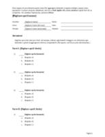 Kit per test a risposta multipla (domande con 3, 4 o 5 risposte)