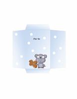 Busta per buono regalo/soldi (tema topolino)