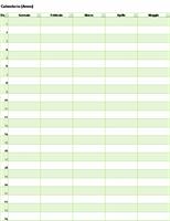 Calendario perpetuo (verticale)