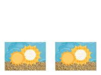Invito (schema Sole e sabbia)