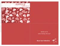 Biglietto di San Valentino (quattro parti)