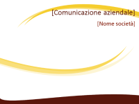 Diapositive con struttura Professionale (struttura Onda borgogna)