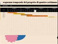 Sequenza temporale progetto