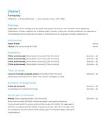 Curriculum per infermieri specializzati