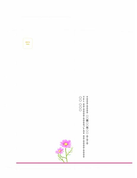 ビジネス用封筒縦 9月