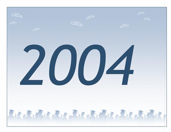200x年度卒業祝いバナー