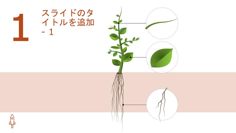 アニメーション化された木の成長を描く図