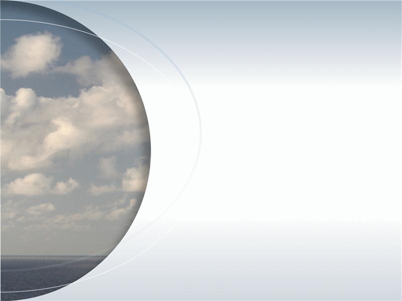 半円の写真と円弧のアクセント