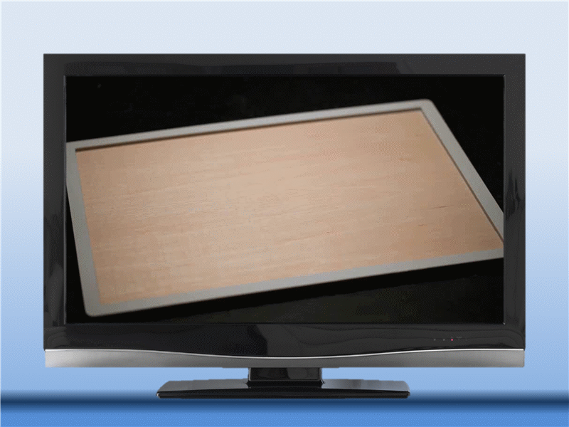 ハイテク テレビ (ビデオ機能付き)