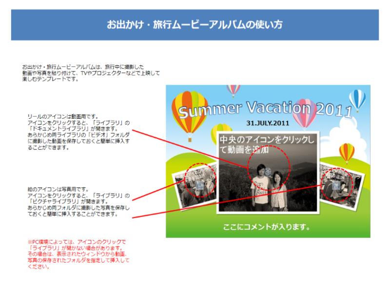 旅行ムービー(サマーバケーション 2011)