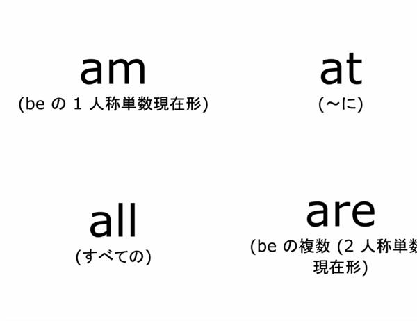 英単語フラッシュ カード (ドルチ英単語リスト初歩、Avery 3263、8387 対応)