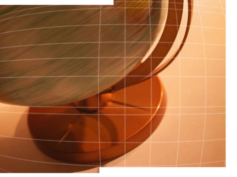 回転する地球儀のデザイン テンプレート