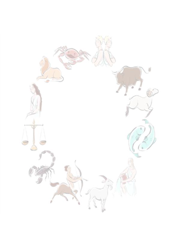星占いのデザイン テンプレート