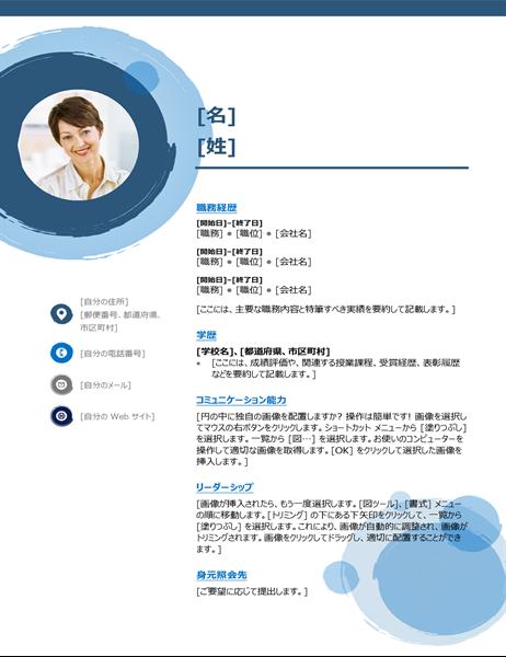 青い球体の履歴書