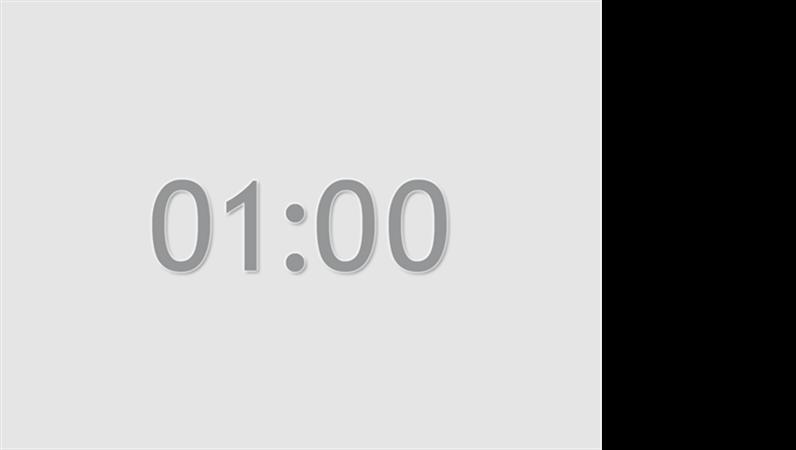 1분 타이머 슬라이드(회색)