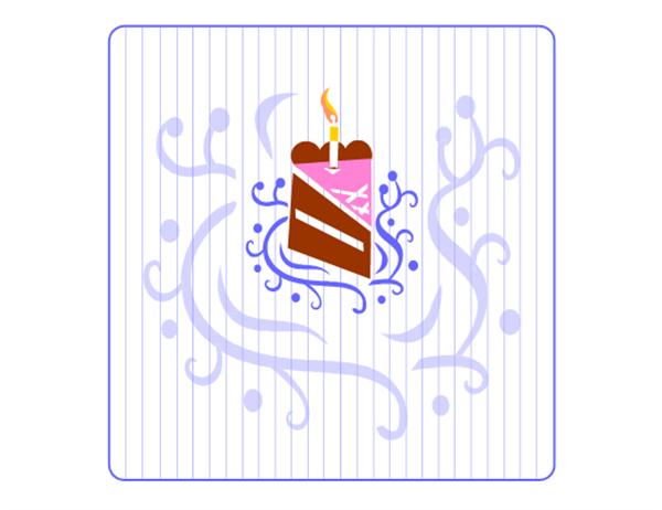 언어를 선택할 수 있는 생일 카드