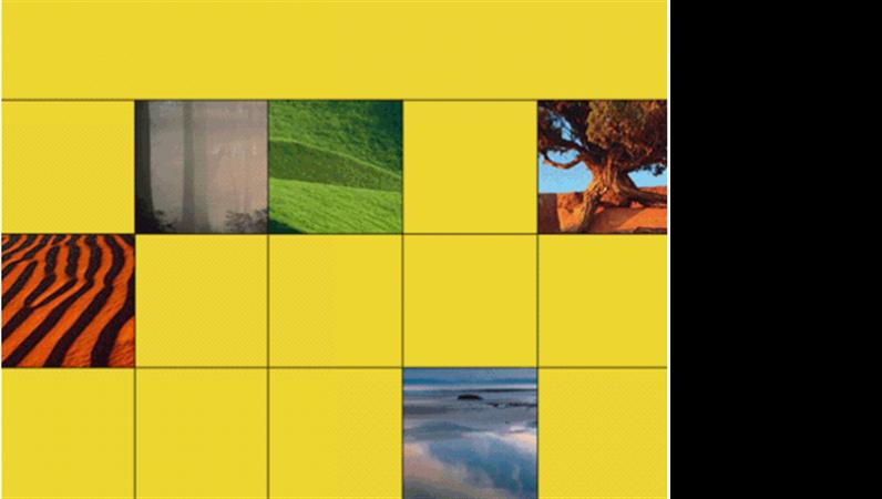 경이로운 자연 디자인 서식 파일