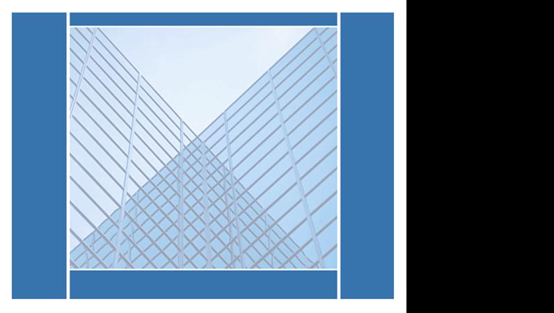 대칭 유리 건물 디자인 서식 파일