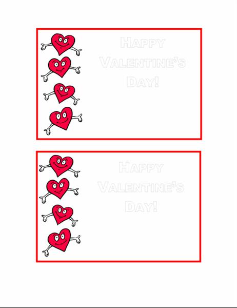 발렌타인 데이 엽서
