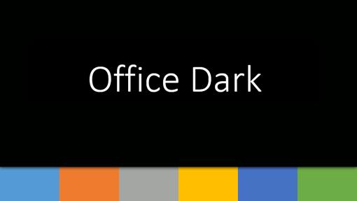 Office 어둡게 1