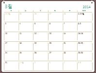 2014-2015학년도 달력(8-7월)