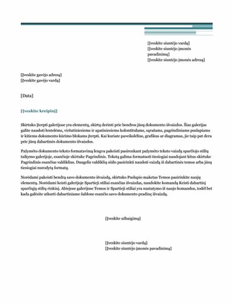 Laiškas (miestiška tema)