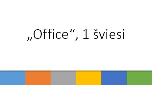 """Office"", 1 šviesi"