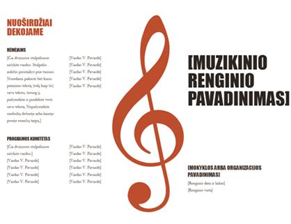 Koncerto programa
