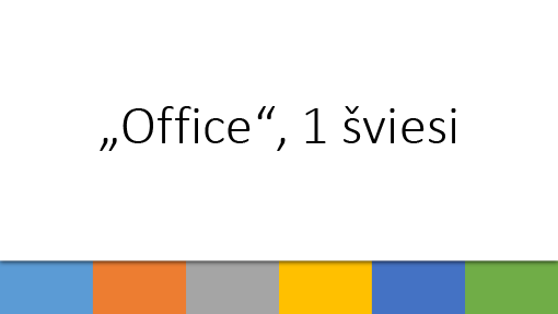 """Office"", 1 šviesi"