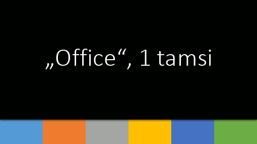 """Office"", 1 tamsi"