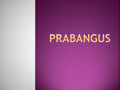 Prabangus