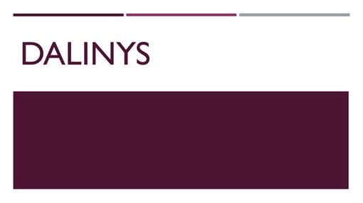 Dalinys