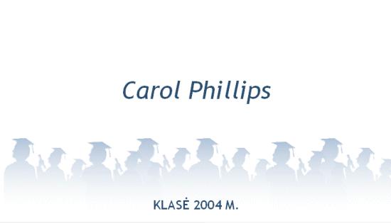 Vardo kortelė naujajam diplomuotam specialistui