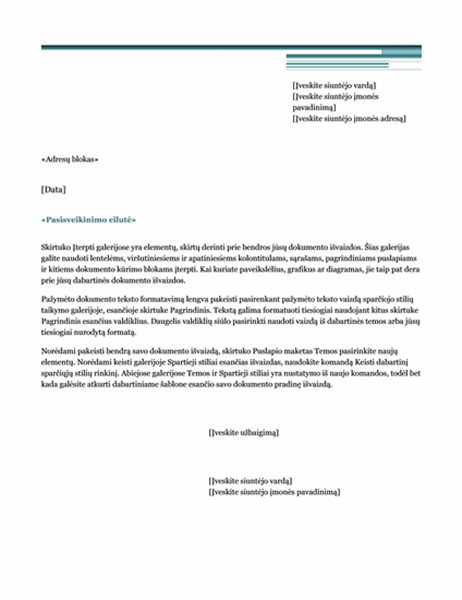 Laiškų suliejimo laiškas (miestiška tema)