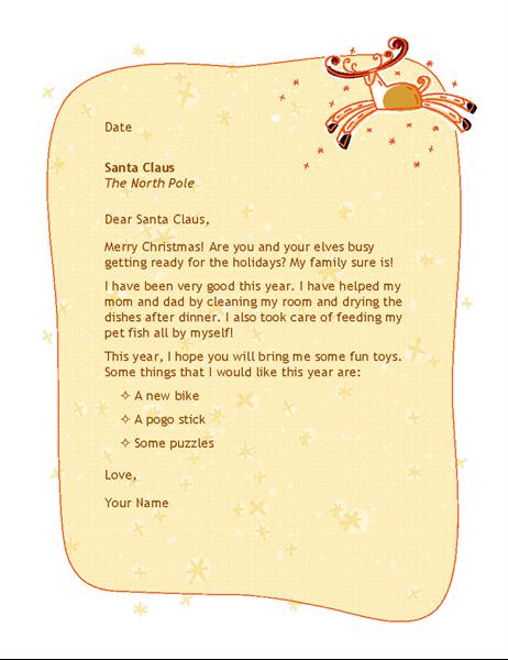 Laiškas Kalėdų