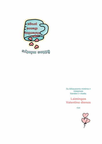 Valentino dienos atvirukas