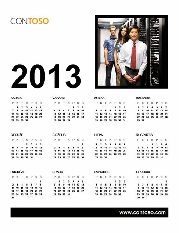 2013 m. verslo kalendorius (P–S)