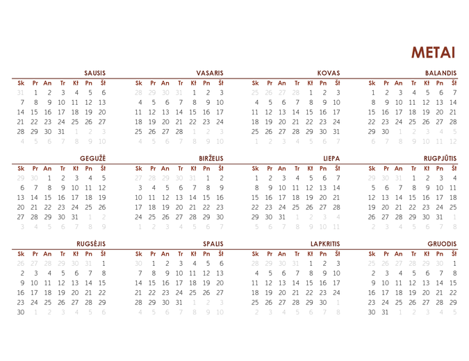Visų metų visuotinis kalendorius