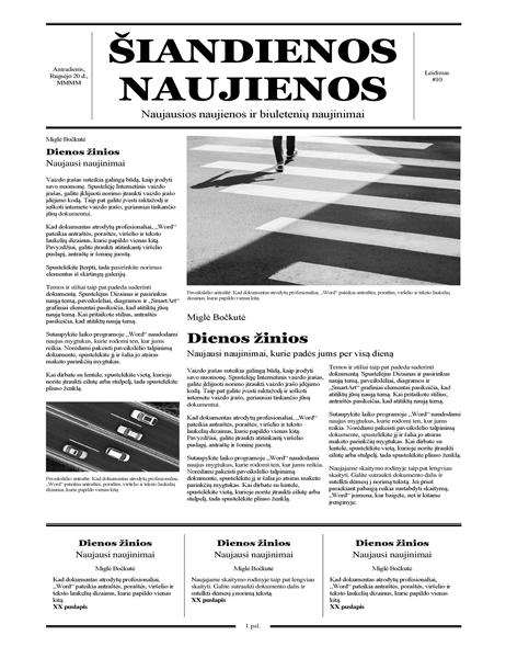Tradicinis laikraštis