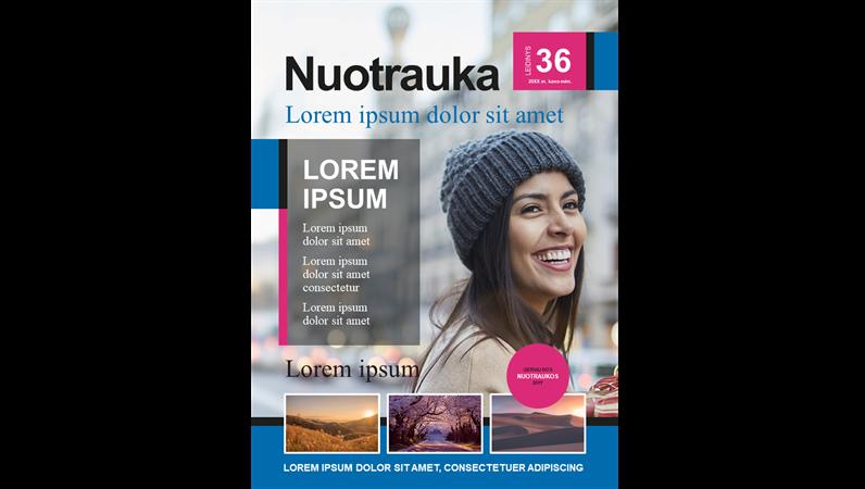 Nuotraukų žurnalų viršeliai