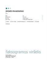 Faksogramos viršelis (taškuotas)