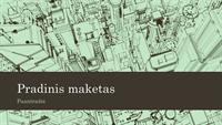 Miesto eskizo pateiktis (plačiaekranė)
