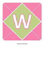 Sveiki! Čia reklaminė juosta Mažylė (rožinė, violetinė, žalia)
