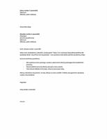 Trumpas viršelio laiškas, atsakant į reklamą