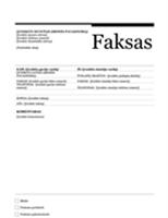Faksogramos viršelis (miesto dizainas)