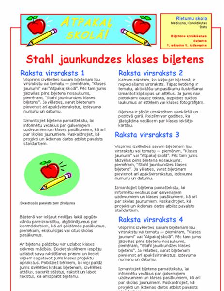Klases apkārtraksts (2-slejas., 2-lpp.)