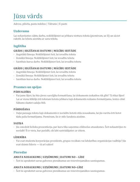 CV (krāsains)