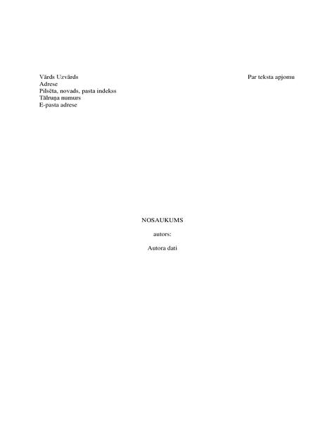Grāmatas manuskripts