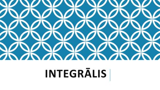 Integrālis